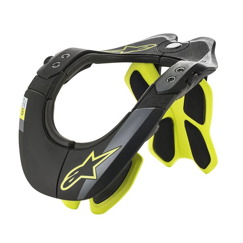 Collare protettivo cross enduro O'Neal TRON Neckbrace COVERT black/green