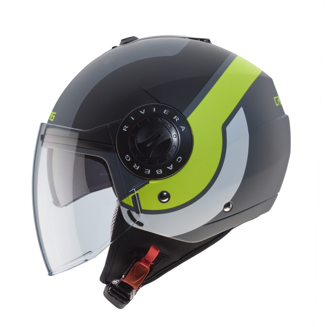 Casco jet Airoh CITY ONE nero opaco