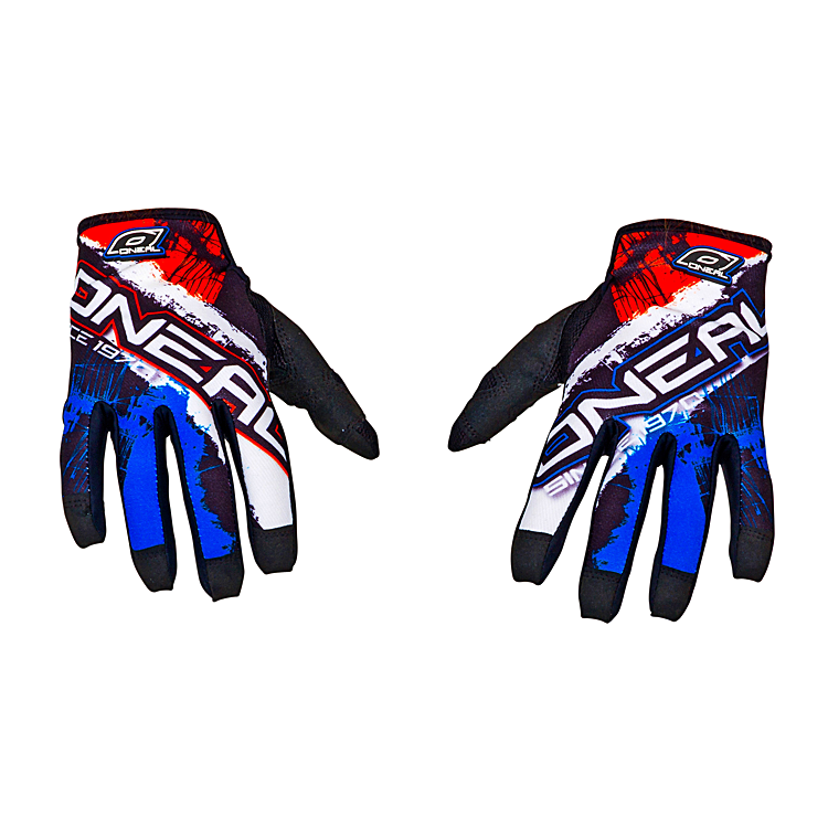 MATRIX Glove BURNOUT orange/black