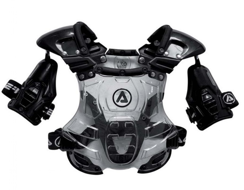 Pettorina cross Alpinestars A-10 FULL CHEST PROTECTOR omologata FMI