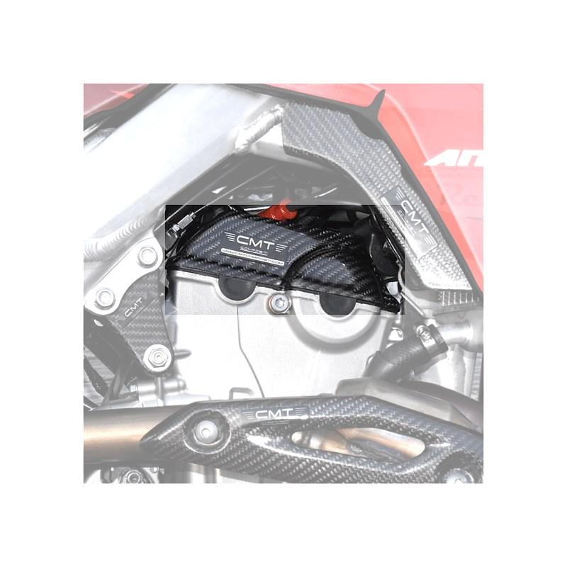 Protezione laterale motore in carbonio CMT per Honda CRF 250 10-17 CRF 450 09-16 cod.000136