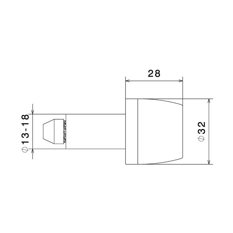 Terminali manubrio Rizoma (bilanceri) cod.MA532 2
