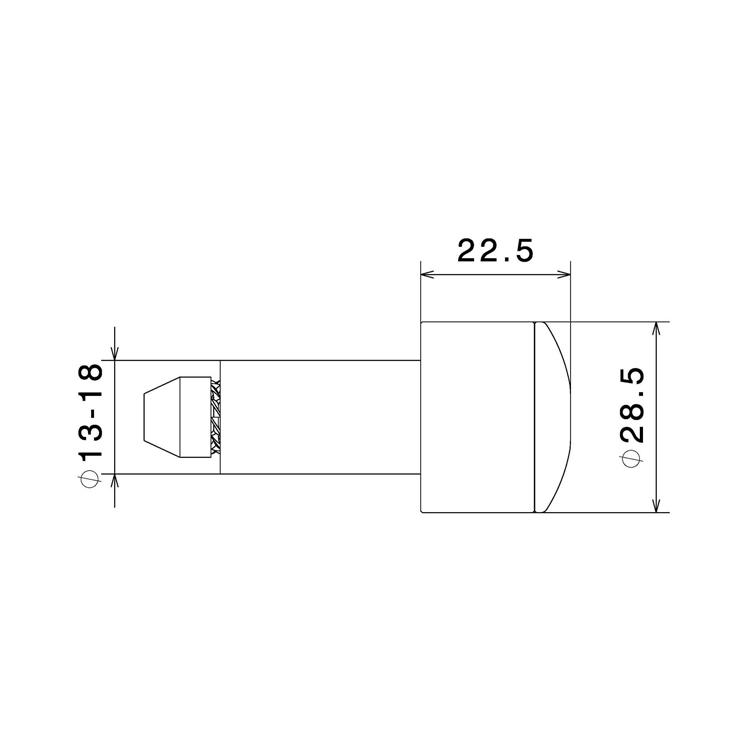 Terminali manubrio Rizoma (bilanceri) cod.MA533 2