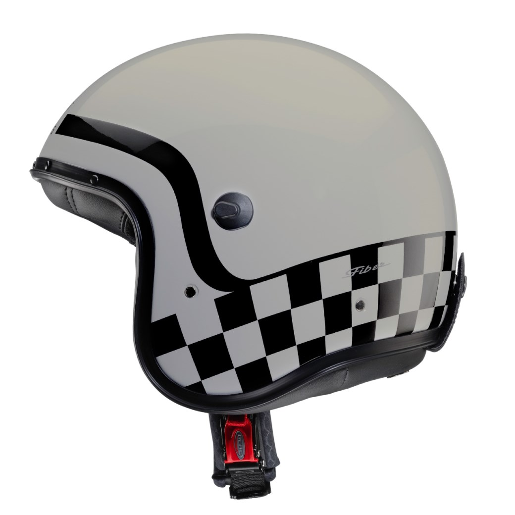 Casco jet Caberg FREERIDE Formula Light Grey 4