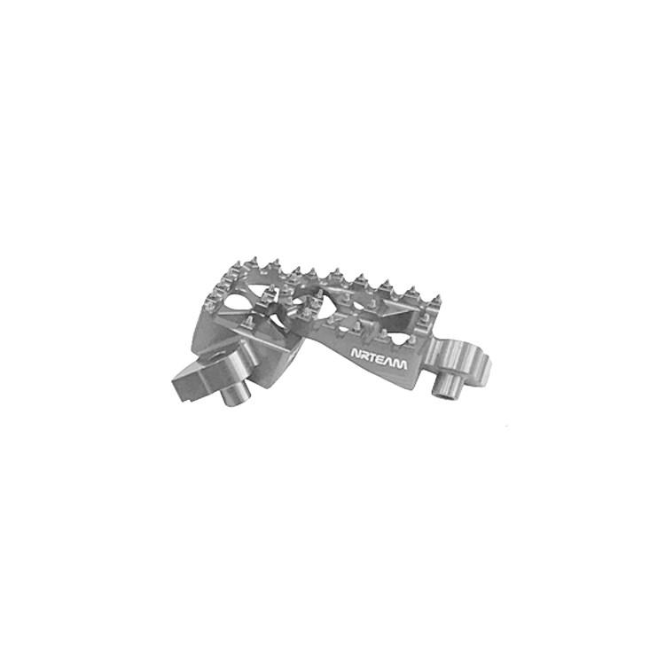 Pedane poggiapiedi maggiorate in ergal NRTeam per SUZUKI RMZ 250 450  DS98.0796 1