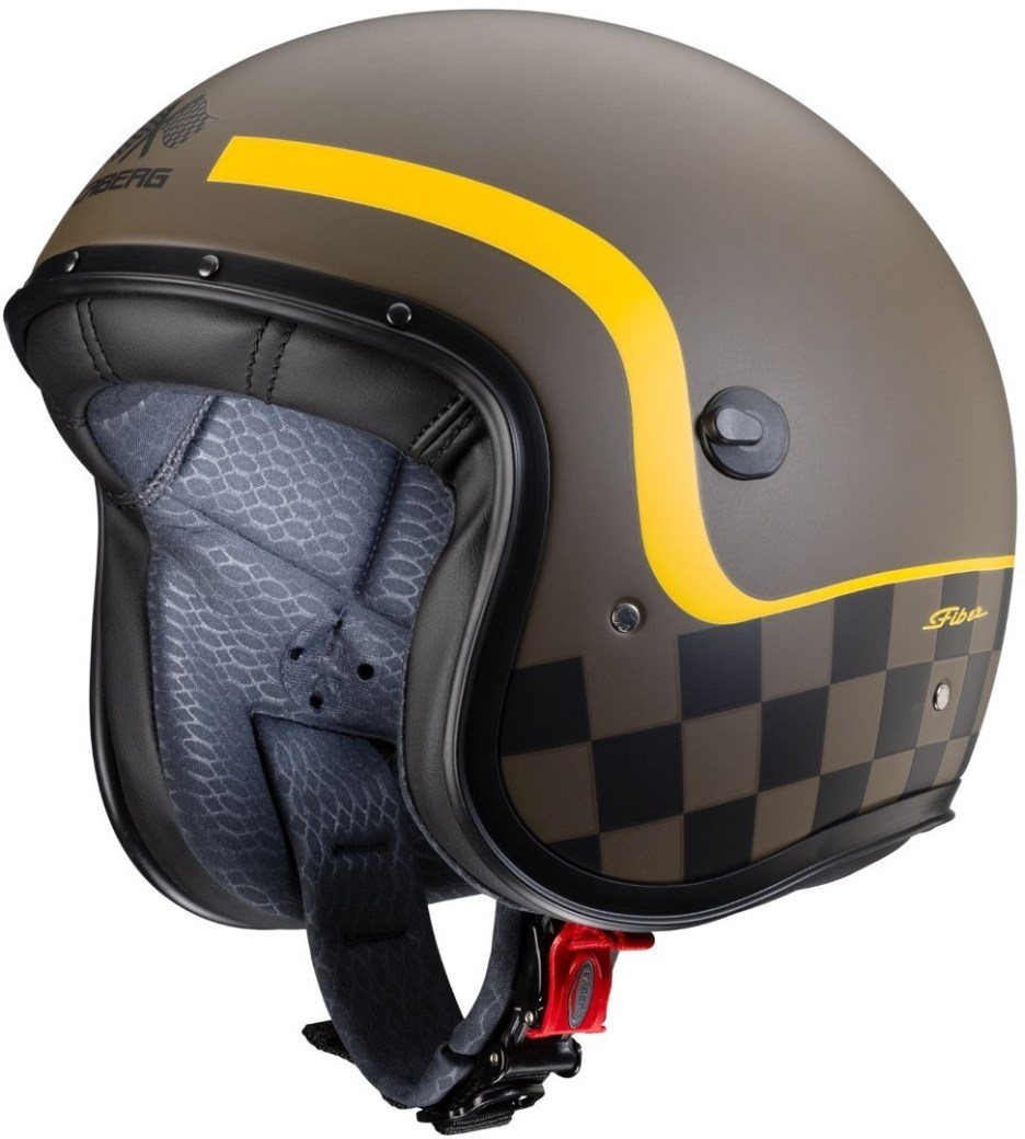 Casco jet Caberg FREERIDE Formula Matt Brown Yellow 3