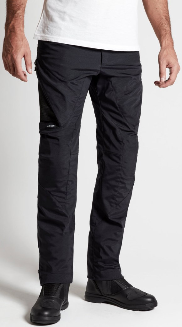 Pantaloni moto ventilati Spidi STRETCH TEX Nero 3