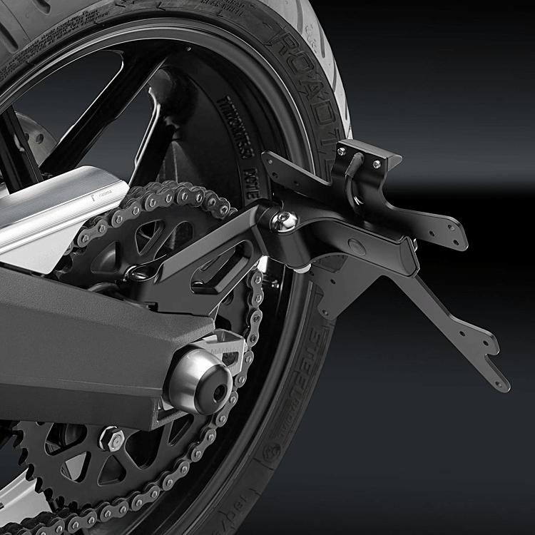 Porta targa OUTSIDE Rizoma per Ducati SCRAMBLER  PT527B 2