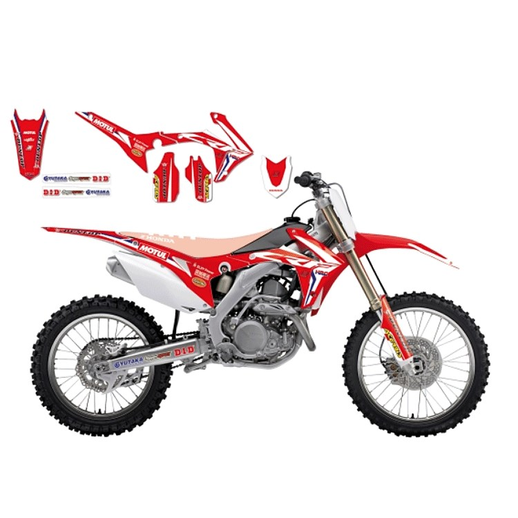 KIT ADESIVI PORTANUMERO ENDURO per Ktm