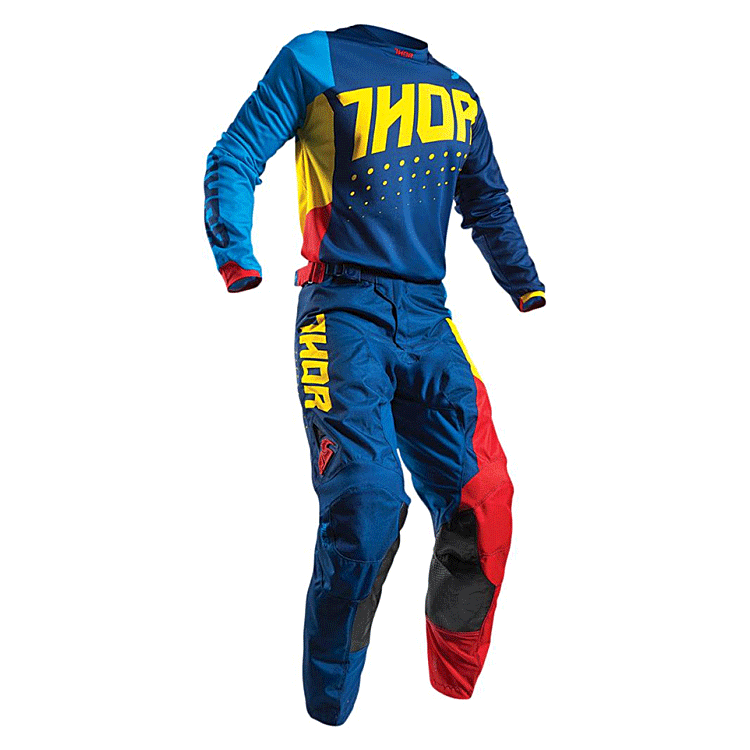 Completo cross O'Neal MATRIX RIDEWEAR 2020 Rosso maglia+pantaloni