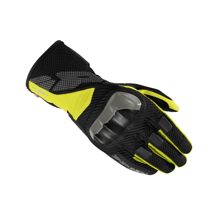 Guanti moto Rev'it RSR 3 nero giallo fluo