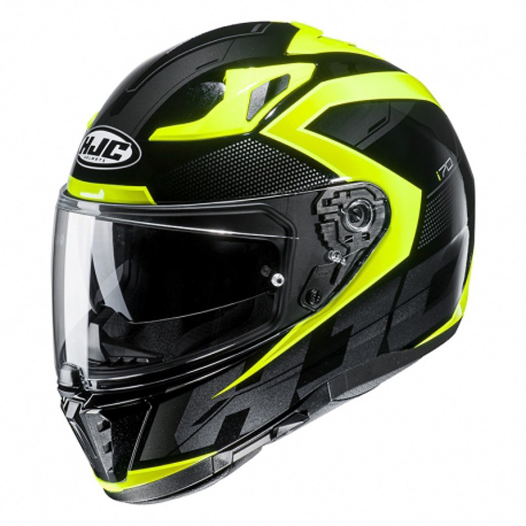Casco dual road Acerbis REACTIVE giallo fluo