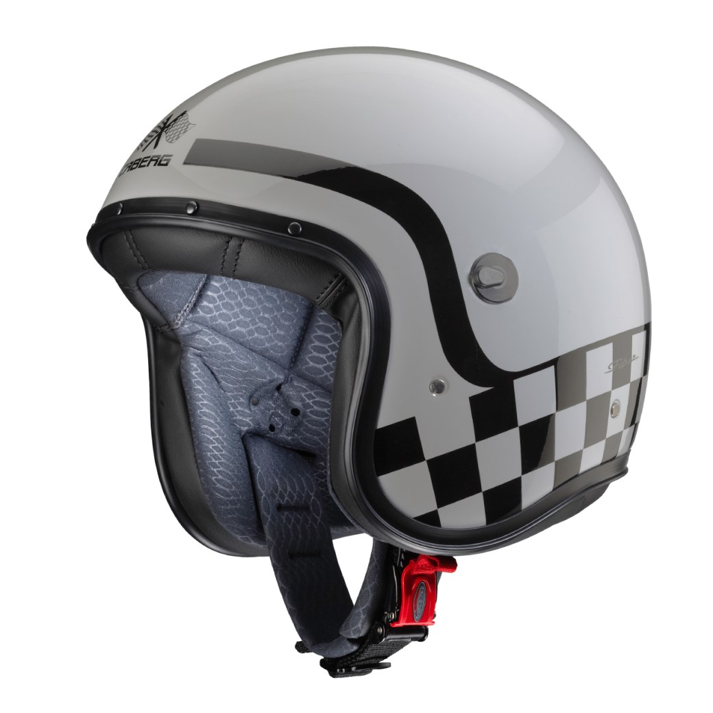 Casco jet Caberg FREERIDE Formula Light Grey 5