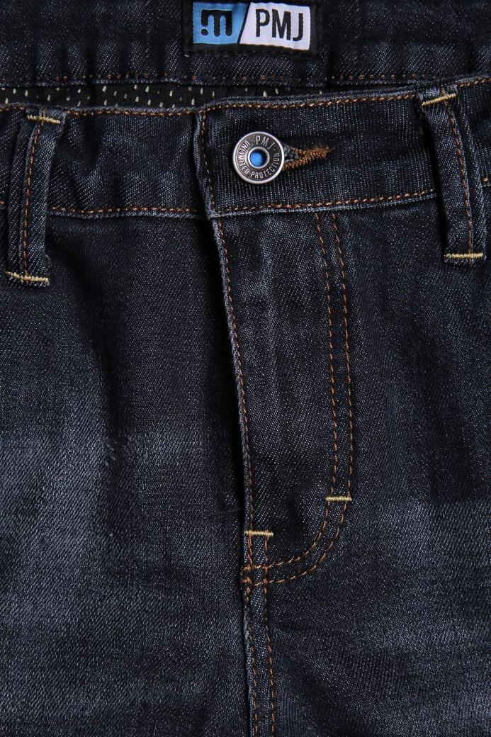 Jeans da moto con protezioni e Kevlar® Promo Jeans LEGEND Grigio