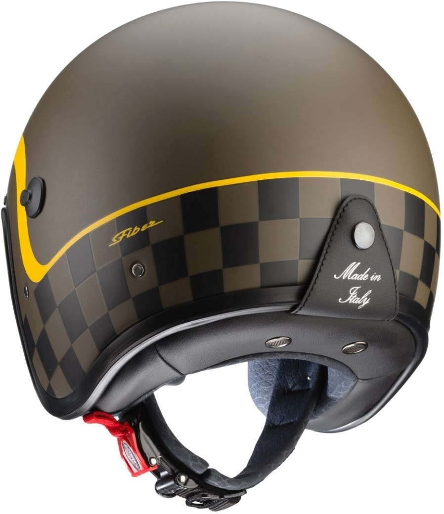 Casco jet Caberg FREERIDE Formula Matt Brown Yellow 2