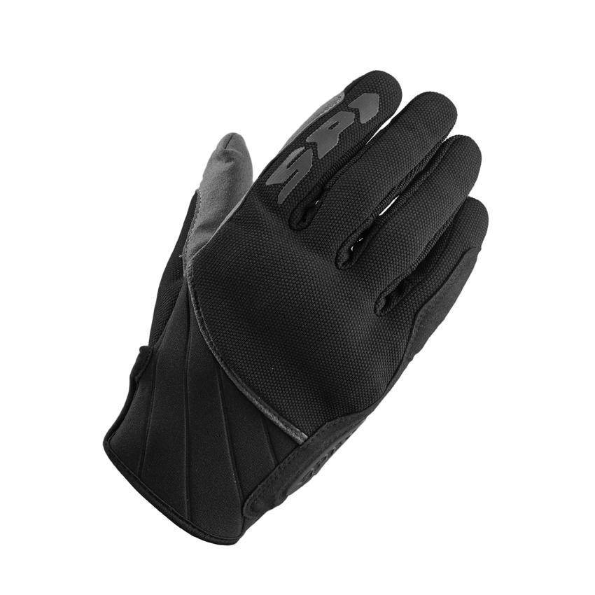 Guanti moto pelle con protezioni Rev'it METIS Nero Bianco Rosso