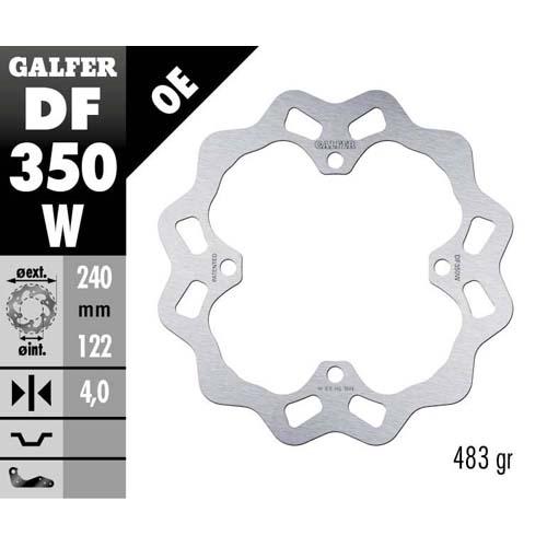 Disco freno Galfer Race KTM  posteriore