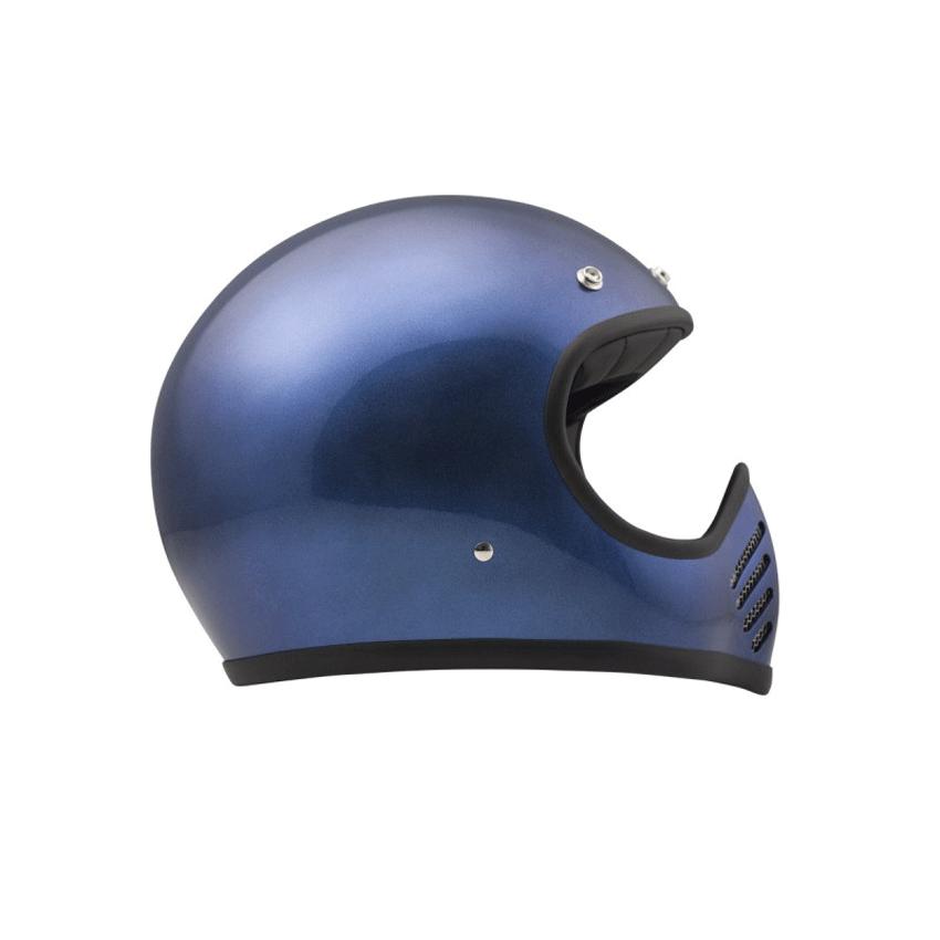 Casco integrale Dmd SEVENTYFIVE metallic blu 2