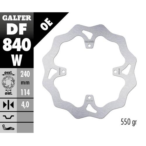 Disco freno Galfer Wave KTM  anteriore