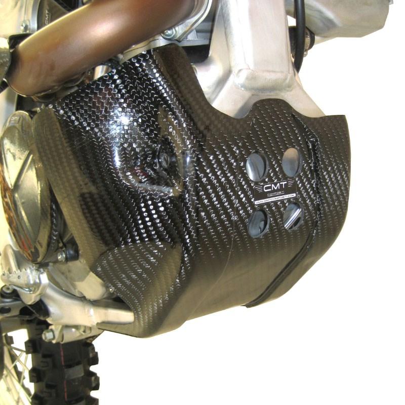 Cover di protezione serbatoio in carbonio CMT per Kawasaki KXF 450 16-17  cod.000723