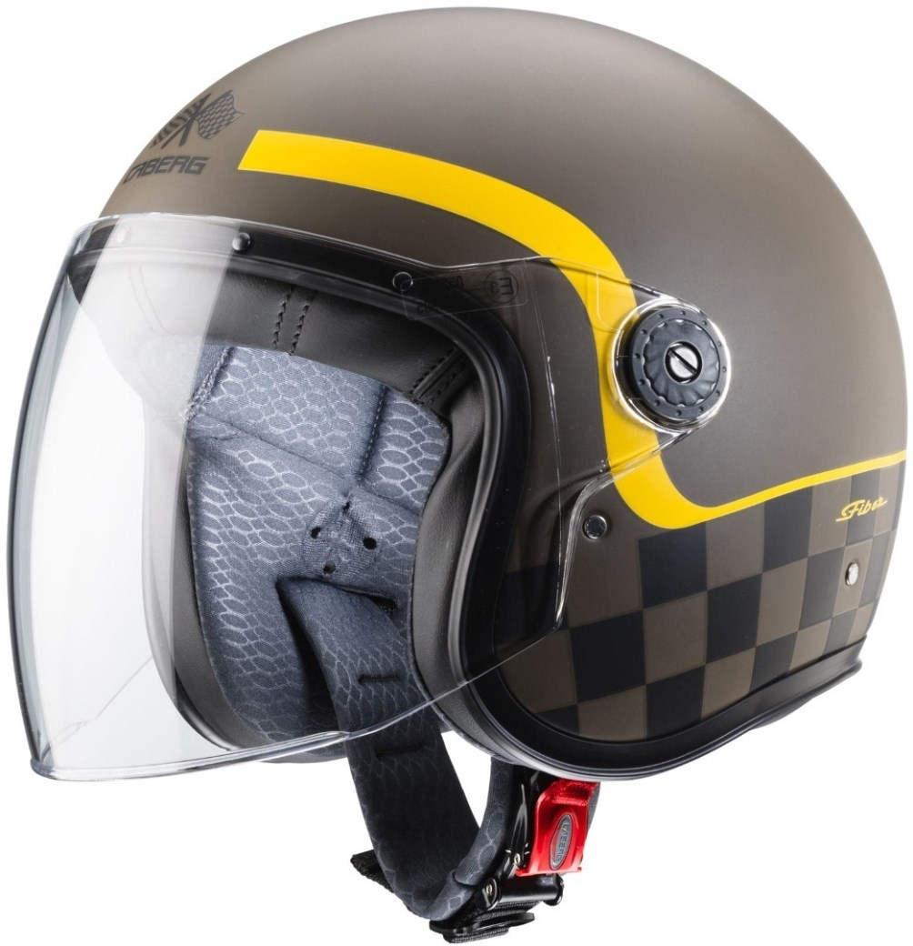 Casco jet Caberg FREERIDE Formula Matt Brown Yellow 1