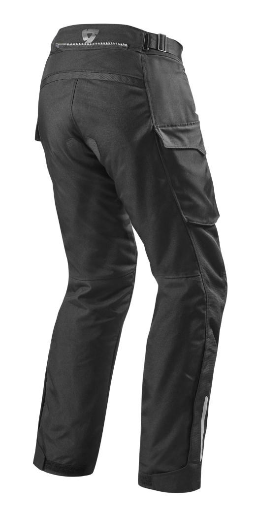 Pantaloni moto Rev'it OUTBACK nero 2