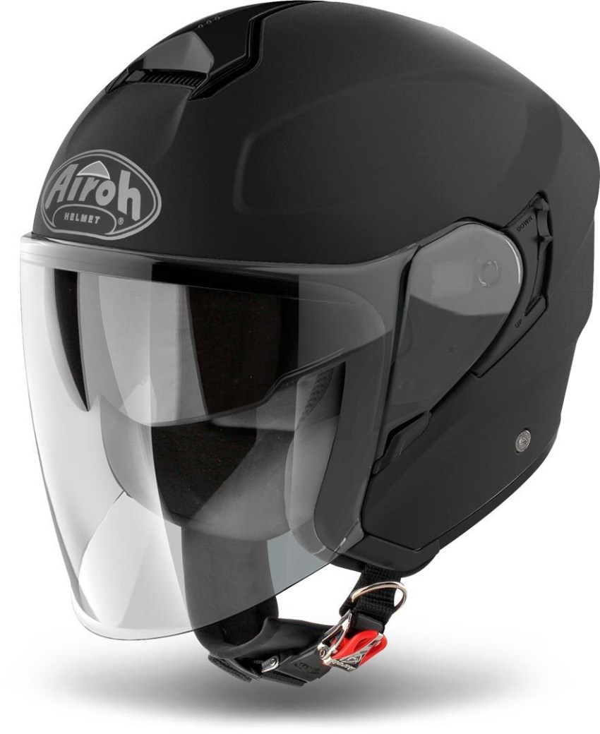 Casco jet Airoh HUNTER COLOR Black Matt 1