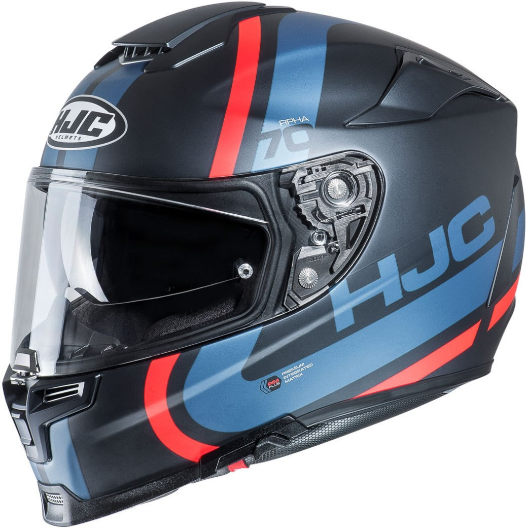 Casco integrale dual road Airoh COMMANDER COLOR Blue Matt