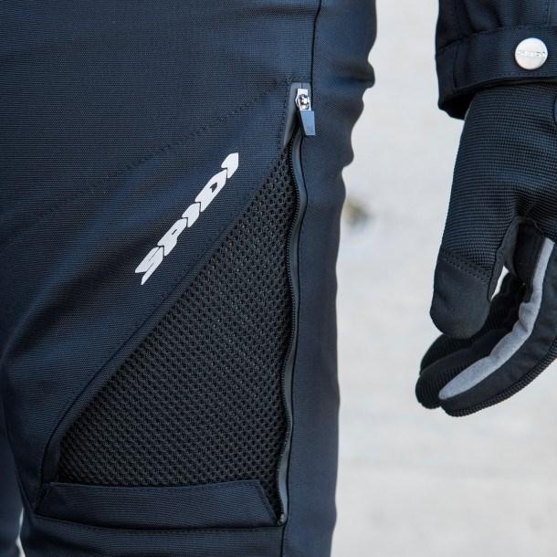 Pantaloni moto Donna ventilati Spidi STRETCH TEX LADY Nero 1
