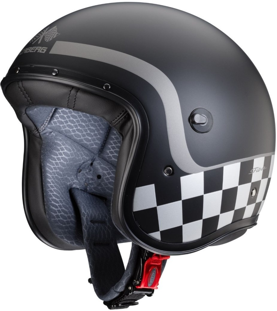Casco jet Caberg FREERIDE Formula Matt Black Anthracite 3