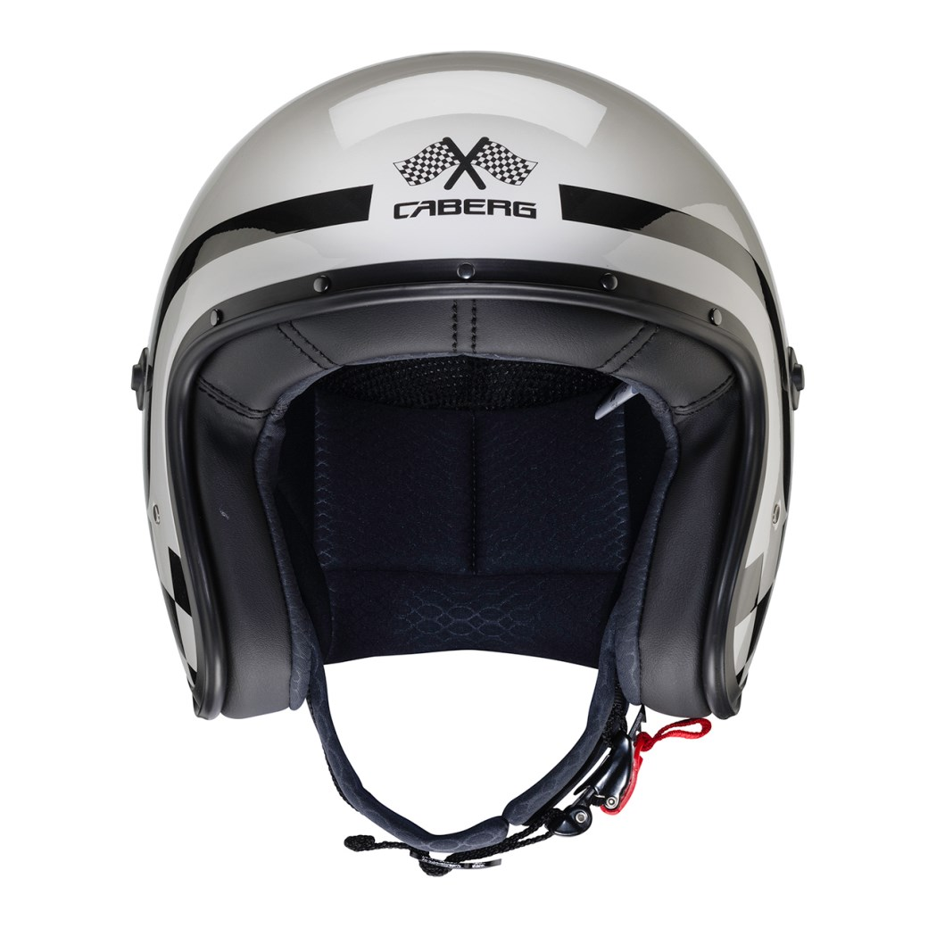 Casco jet Caberg FREERIDE Formula Light Grey 3