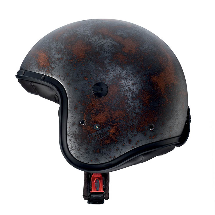 Casco jet Caberg FREERIDE RUSTY 1