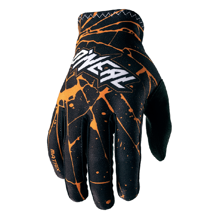 Guanti cross O'Neal MATRIX Glove ATTACK black/hi-viz