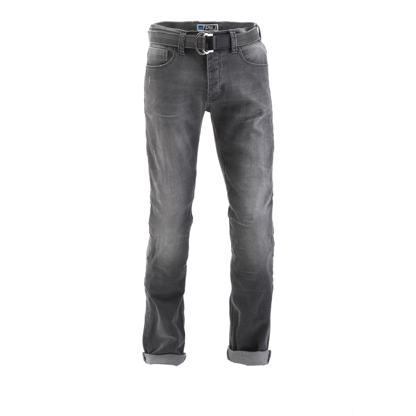 Jeans da moto con protezioni e Kevlar® Promo Jeans VOYAGER SHORT Blu