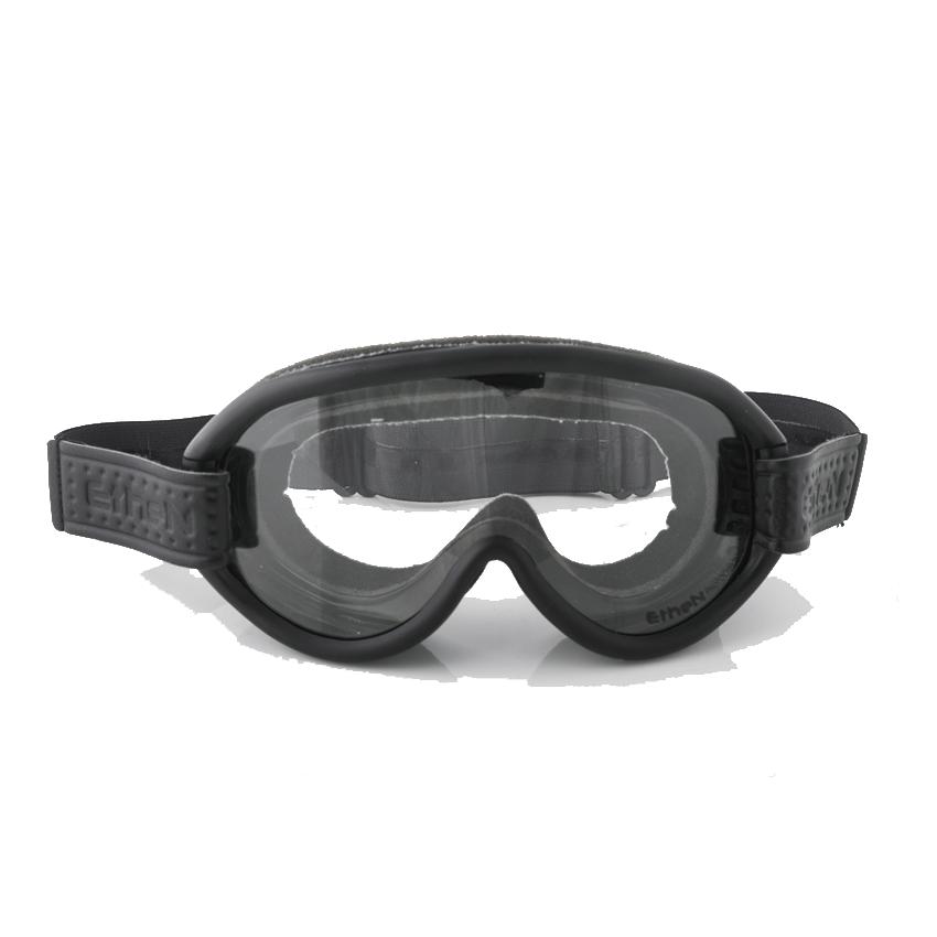 Occhiali maschera moto vintage fotocromatici ETHEN SCRAMBLER elastico colorato 2