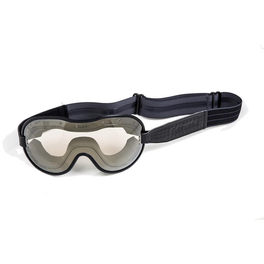 Occhiali maschera moto vintage fotocromatici ETHEN SCRAMBLER Giallo