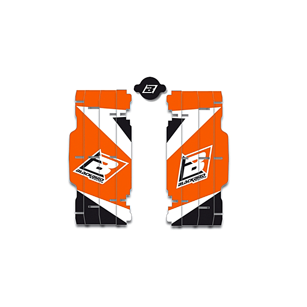 ADESIVI RADIATORE Dream 3 KTM EXC-EXCF 08-18 + SX-SXF 07-18 1