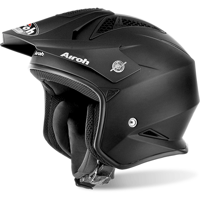 Casco integrale dual road Airoh S5 COLOR Black Matt